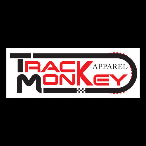 Track Monkey Bumper Sticker