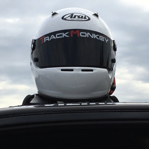 Track Monkey Visor Decal