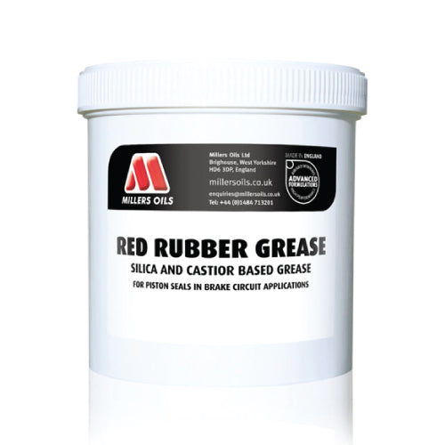 Red Rubber Grease (500g tub)