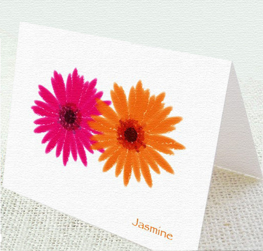 Gerber Flower Card