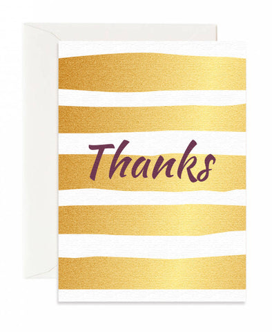 Modern Stripes Card