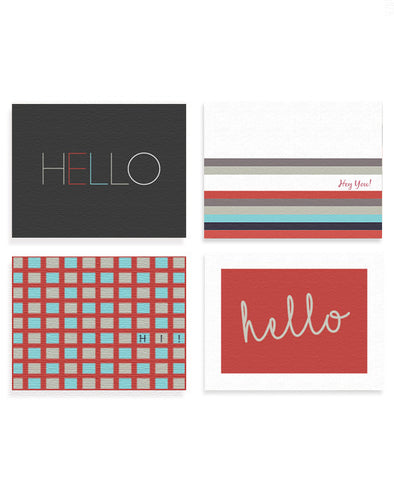 Hello Assorted Card Set