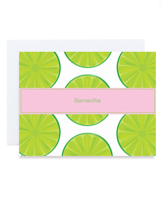 Citrus Lime Card