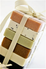 gift set with soaps of 25gr