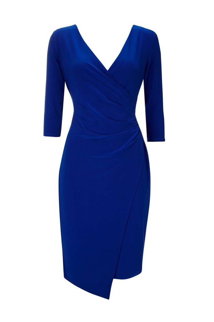 Office wrap style bodycon  dress