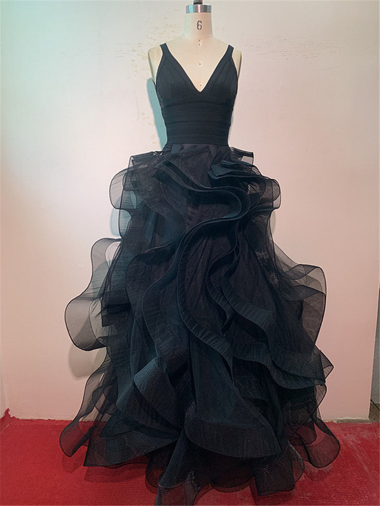 Natalie's tulle opulent evening gown