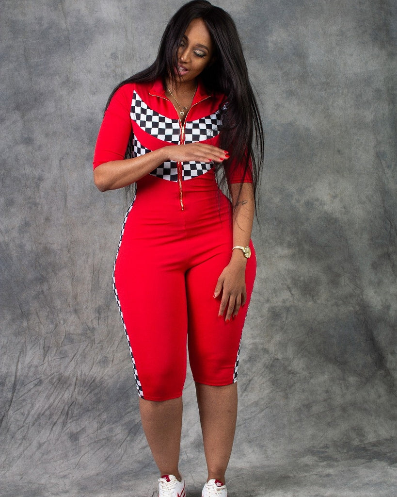 Capri motorsport jumpsuit