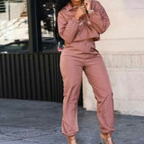 Casual track suit two piece