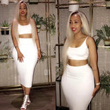 Medium white two piece - Only available in white