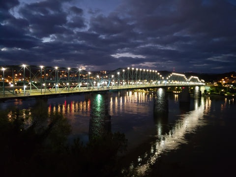 Chattanooga Scenic Landscape at Night