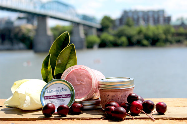 Brandy Soaked Bordeaux Cherry Butter - The Chattanooga Butter Company - 1