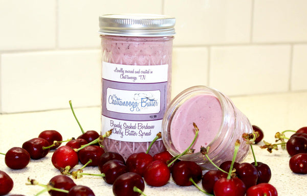 Brandy Soaked Bordeaux Cherry Butter - The Chattanooga Butter Company - 3