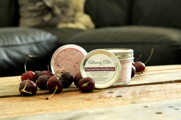 Brandy Soaked Bordeaux Cherry Butter - The Chattanooga Butter Company - 2