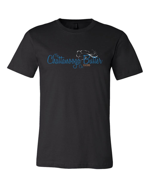 Chattanooga Butter T-Shirt - Black Front