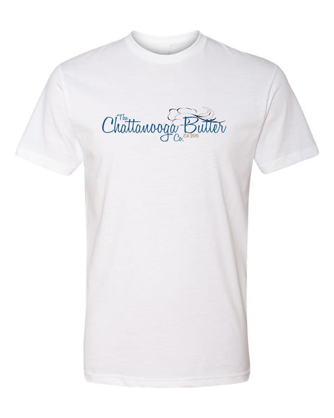 Chattanooga Butter T-Shirt - White Front
