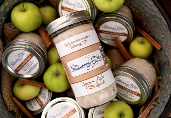 Cinnamon Apple Butter Spread - The Chattanooga Butter Company - 1