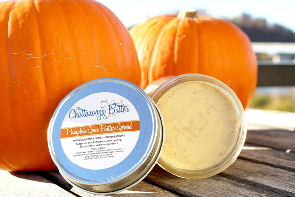 Pumpkin Spice Butter - (Seasonal) - The Chattanooga Butter Company - 1