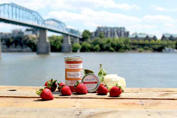 Strawberry Butter Spread - The Chattanooga Butter Company - 1