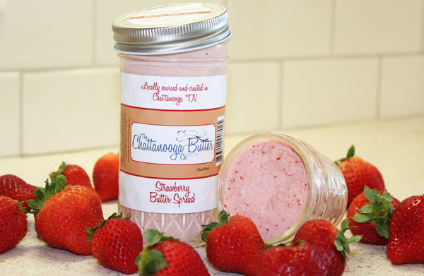 Strawberry Butter - The Chattanooga Butter Company - 3