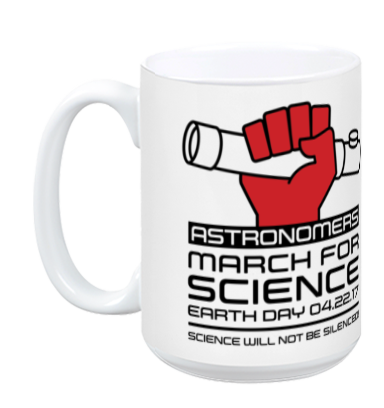 Astronomers March For Science - White Mug