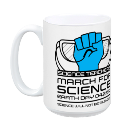 Science Teachers March For Science - White Mug