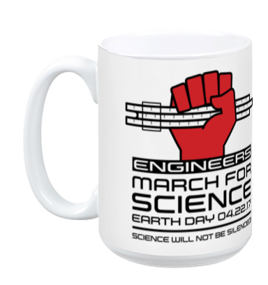 Engineers March For Science - White Mug