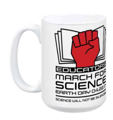 Educators March For Science - White Mug