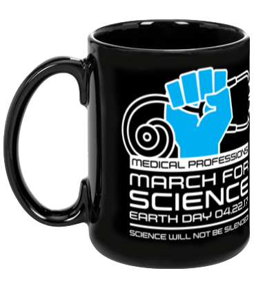 Medical March For Science - Black Mug
