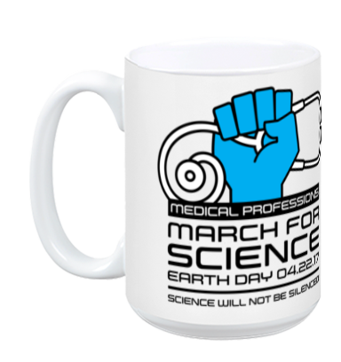Medical March For Science - White Mug