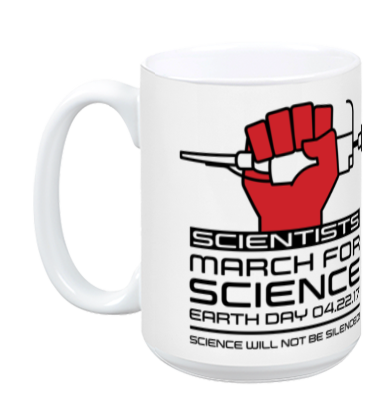 Scientists March For Science - White Mug