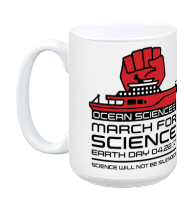 Ocean Sciences March For Science - White Mug