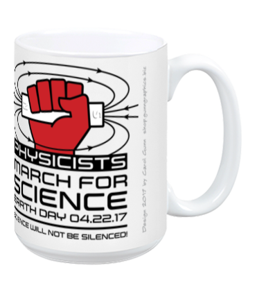 Physicists March For Science - White Mug