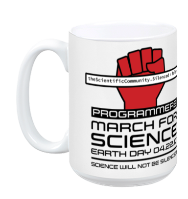 Programmers March For Science - White Mug