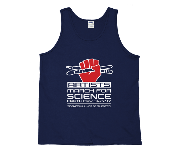 Artists March For Science - Dark Tank