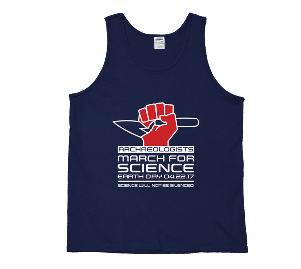 Archaeologists March For Science - Dark Tank