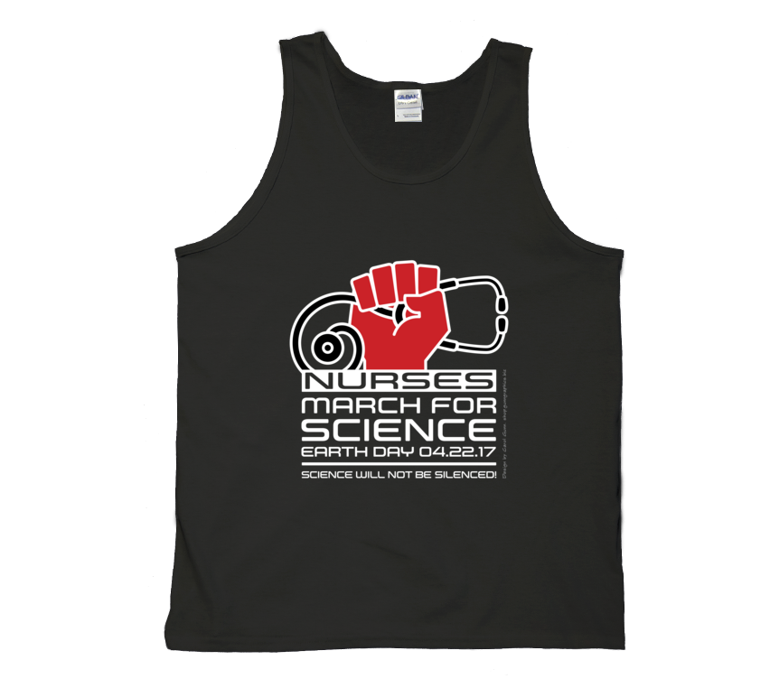 Nurses March For Science - Dark Tank