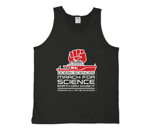Ocean Sciences March For Science - Dark Tank