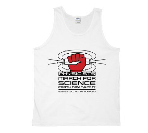 Physicists March For Science - Light Tank