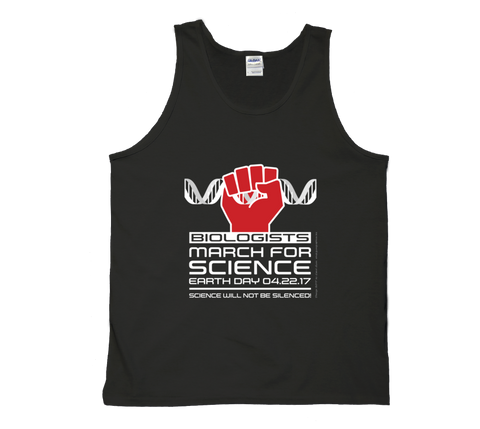 Biologists March For Science - Dark Tank