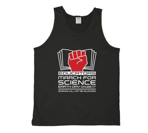 Educators March For Science - Dark Tank
