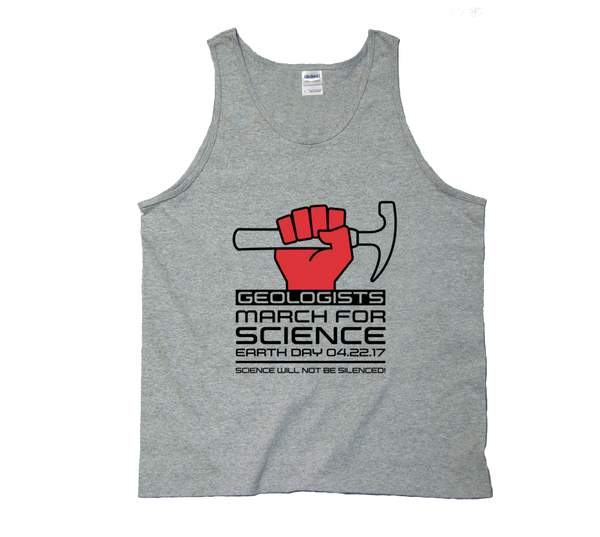 Geologists March For Science - Light Tank