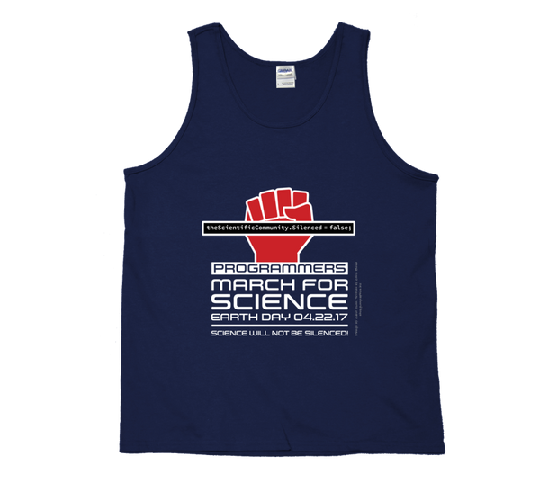 Programmers March For Science - Dark Tank