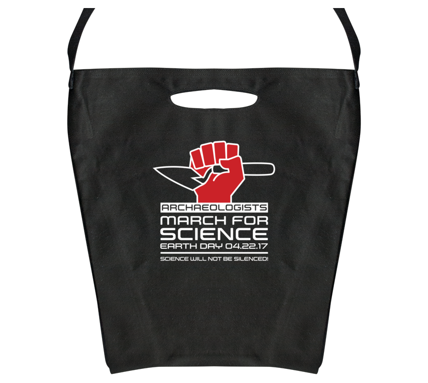 Archaeologists March For Science — Tote