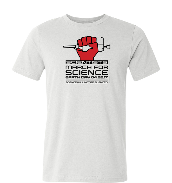 Scientists March for Science T-Shirt — Light