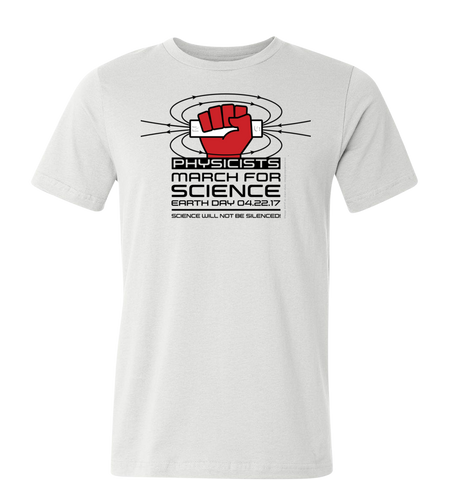 Physicists March for Science T-Shirt — Light