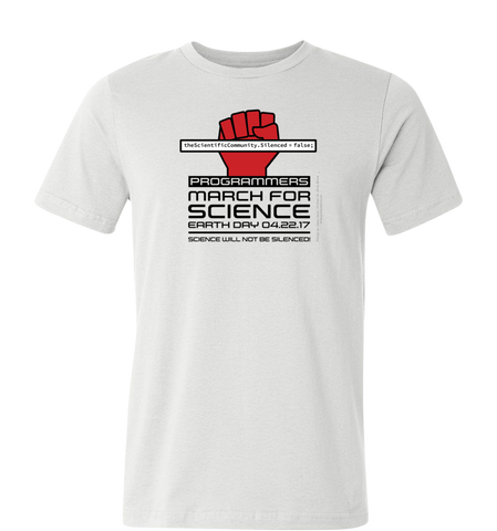 Programmers March for Science T-Shirt — Light