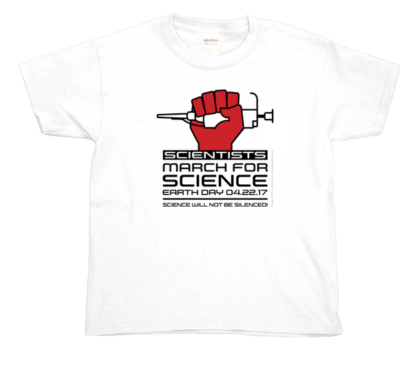 Scientists March For Science- Light Youth Tee