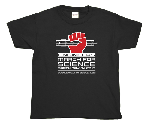Engineers March For Science- Youth Tee