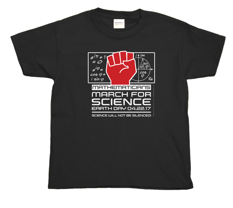 Mathematicians March For Science- Youth Tee