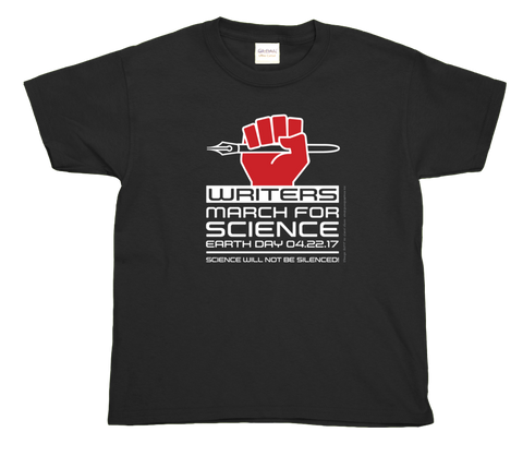 Writers March For Science- Youth Tee